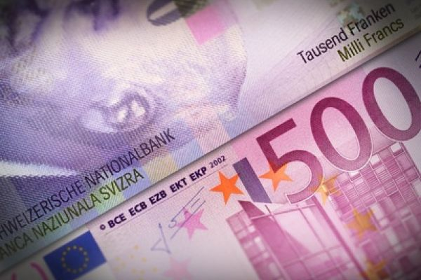 EUR CHF Exchange Rate Down for Second Day in a Row